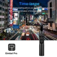 3-осевой ручной карданный стабилизатор активная дорожка с фокусом для iPhone 11 8 Huawei Samsung смартфон PTZ Экшн-камера 3