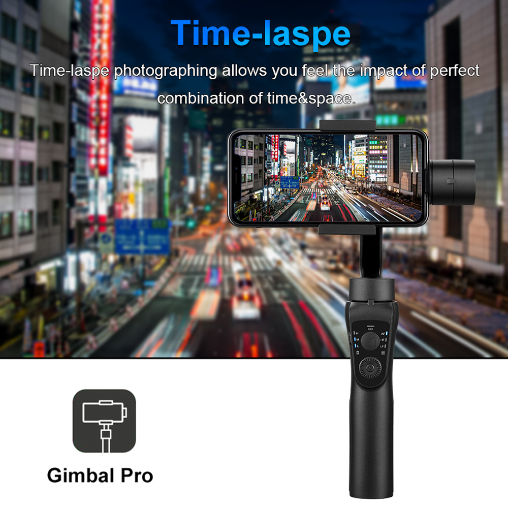 Image 4 - 3 Axis Handheld Gimbal Stabilizer Active Track w/Focus Pull