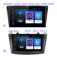Android 9 inch Car multimedia player GPS For Mazda 3 mazda3 2004 2005 2006 2007 2008 2009 2010 2011 2012 car radio stereo
