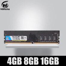 Mémoire de serveur d'ordinateur de bureau, modèle DDR4, capacité 4 go 8 go 16 go, fréquence d'horloge PC4-19200, Ram pour Intel, AMD, Mobo, 2400 broches, tension 1.2V