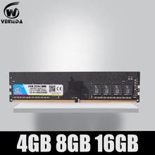 DDR4 4GB 8GB 16gb PC4-19200 pamięć Ram ddr 4 2400 dla Intel AMD DeskPC Mobo ddr4 8 gb 1 2V 288pin tanie tanio VEINEDA Nowy 2400 mhz Pulpit NON-ECC 11-11-11-30 Jeden Rok Pojedyncze 1 2 V 2400MHz