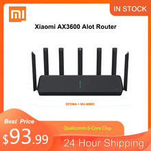 NEUE Xiaomi AX3600 AIoT Router Wifi 6 5G WPA3 Wifi6 600Mb Dual-Band 2976Mbs Gigabit Rate Qualcomm a53 Externe Signal Verstärker M