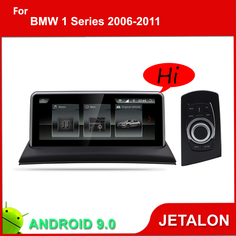 JETALON Car Multimedia Player For <font><b>BMW</b></font> 1 Series E81 E82 <font><b>E87</b></font> E88 GPS <font><b>Android</b></font> <font><b>9.0</b></font> Navigation 10.25 Inches Screen Monitor 2005-2012 image