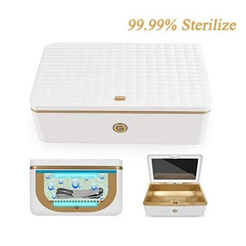 Disinfection Box UV Ozone Sterilizer Box Dry Manicure Nail Sterilizer UV Manicure Beauty Salon Equipment Sterilizing Nail Tools цена 2017