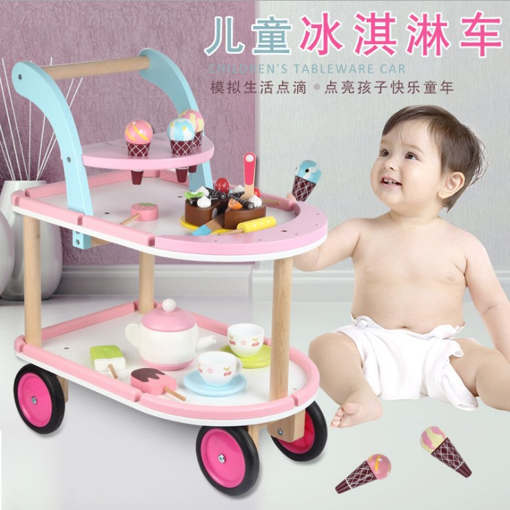 220 В полностью автоматическая машина для Фруктового мороженого с двойной бочкой машина для мороженого для детей DIY машина для мороженого дл... - 2