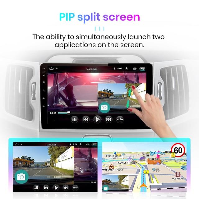Junsun V1 2G+32G Android 10 DSP Car Radio Multimedia Video Player Navigation GPS  2 din For KIA Sportage 3 2010 2011-2016 no dvd