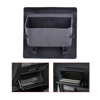 CITALL Black Inner Interior Fuse Cover Storage Tray Container Holder fit for Subaru XV Forester Impreza Outback Legacy WRX STI image