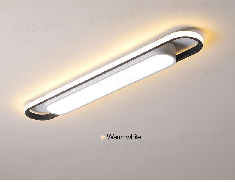 Luminária de teto em led moderna para