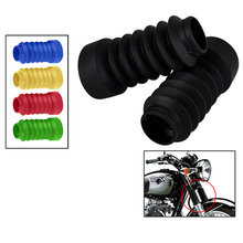 Motorcycle Front Fork Gaiters Dust Cover Gators Boots For Honda Dio 18/27/28/34/35/56 Rubber