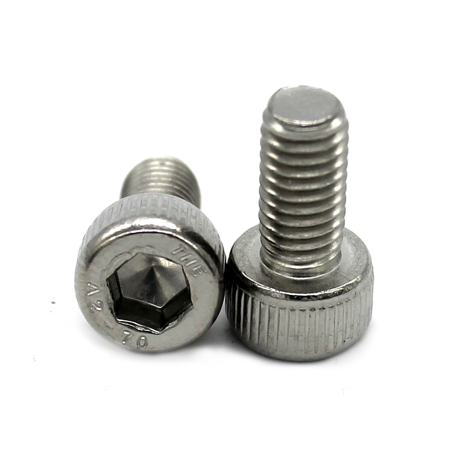 M4 M5 M6 M8 Fully Threaded Hexagon Head Set Stainless Steel Screws Hex Bolts
