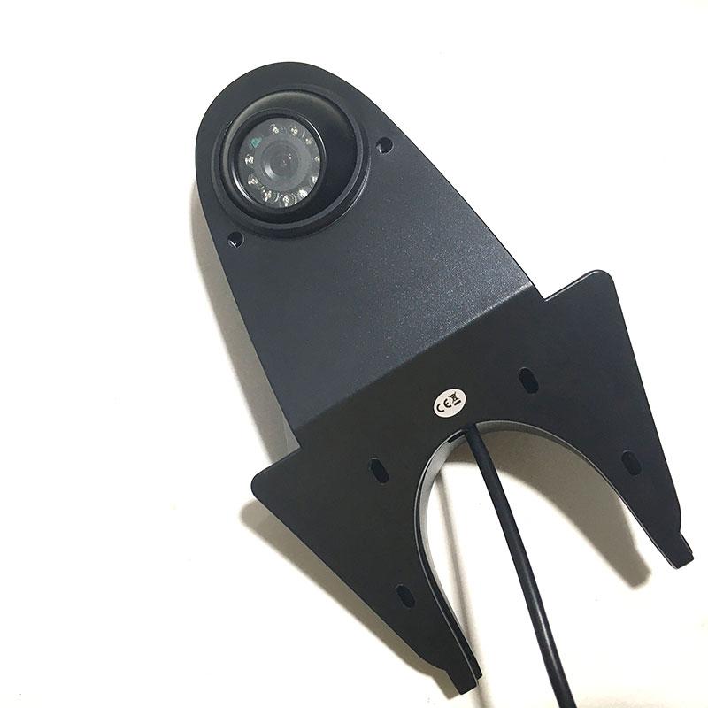 cheapest 4Pin Plug Connector 12V 24V 7 inch HD Monitor Reversing Night Vision Rear View Backup Camera Parking Kit for Car Bus Truck