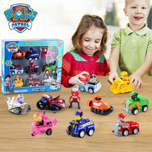 Paw Patrol Toys Set Dog Puppy Patrol Car Patrulla Canina Action Figures Model Toy Chase Ryder Vehicle Car For Kids Gifts