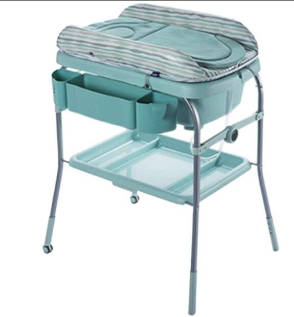 Table de bain bébé italien Chicco Zhigao changement de couche néonatale Table d'allaitement importé Table de Massage bébé Bb