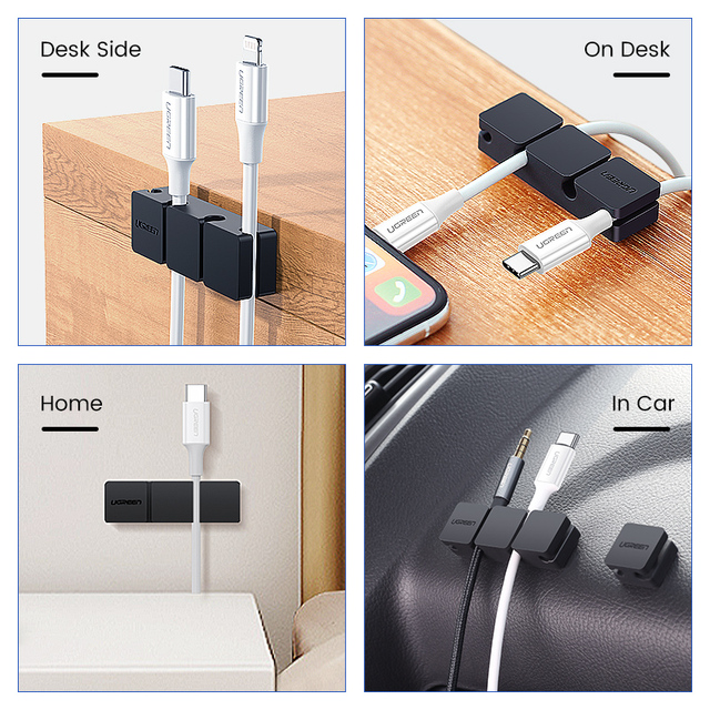 Clip Organizer for all your Messy Cables 3