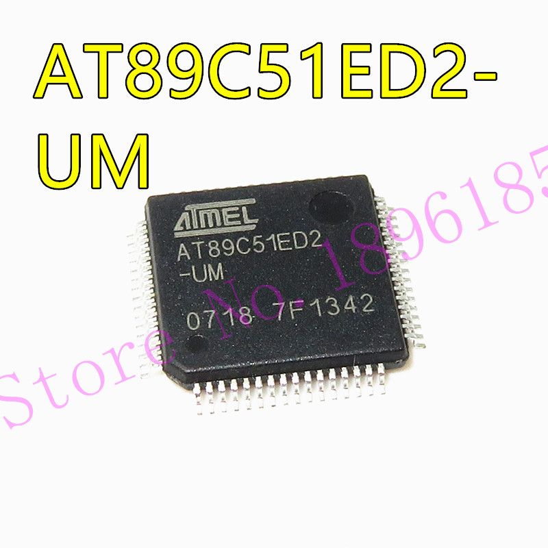 AT89C51ED2-UM AT89C51ED2-IM QFP 8-битный флэш-памяти микроконтроллера