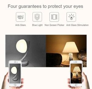 Image 5 - Tuya Smart APP واي فاي لمبة مكتب 16 مليون لون لاسلكي مؤقت تحكم عن بُعد أليكسا متوافق ضوء الليل RGB عكس الضوء للمنزل الذكي