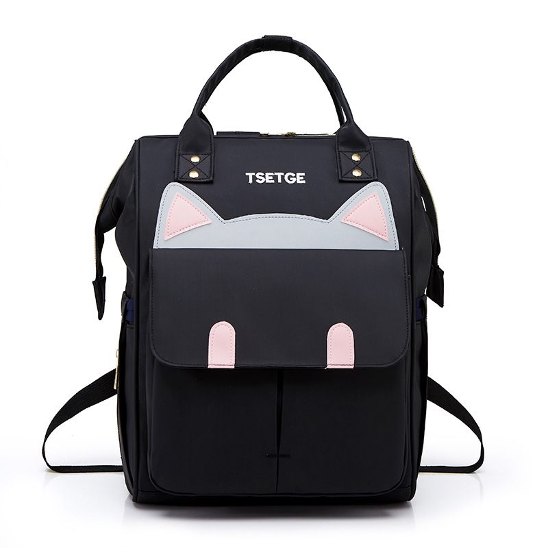 New Style Fashion Diaper Bag Versatile Outdoor Travel Backpack Trend Waterproof Oxford Bag Women's One-Shoulder Handbag