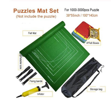 Puzzles Mat Jigsaw Roll Felt Mat Play mat Puzzles Blanket For Up to 3000 Pieces Puzzle Accessories Portable Travel Storage bag