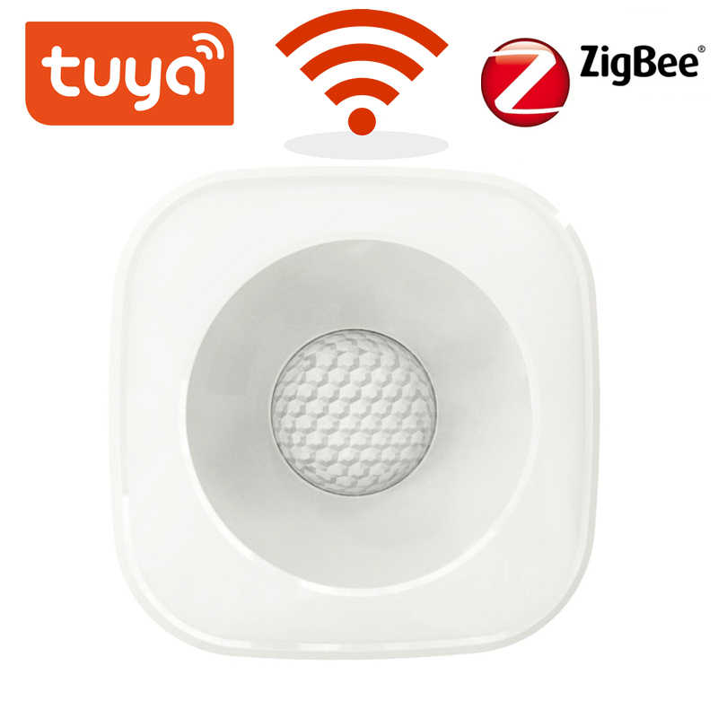 Tuya Zigbee/WiFi PIR Motion Sensor อินฟราเรด Security Security SENSOR Smart Life APP Control Compatible