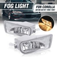 High Quality Car Front Bumper LED Fog Lights Fog Light Lamp With Bulb For Toyota Corolla AE100 AE101 1993 1997 A1649060451