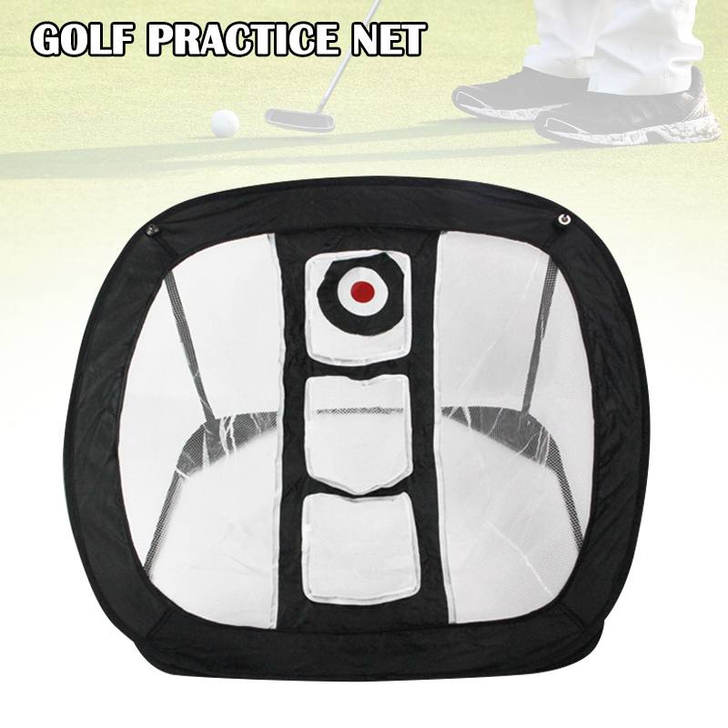 Hot Golf Swing Practice Chipping Net Indoor Outdoor Golfing Target Net Golf Accessories For Accuracy And Swing Practice  MVI-ing