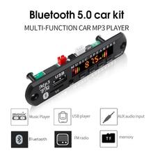 MP3 モジュール Bluetooth 5.0 レシーバーカーキット MP3 プレーヤーデコーダボードカラー画面 FM ラジオ TF USB 3.5 ミリメートル AUX オーディオ Iphone XS