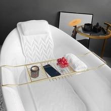 Full Body Bath Pillow, Upgraded Non-Slip Bath Cushion for Tub, Spa Bathtub Pillow Mattress for Head Neck Shoulder and Back Rest