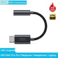 Oryginalny wzmacniacz słuchawkowy Meizu HIFI DAC PRO dekodowanie type-c do 3.5mm audio-adapterhigh Performance