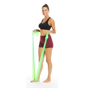 Przyjazny dla środowiska TPE elastyczny opór jogi joga ciągnąć pasek rozciągliwy pasek przeciągnij pasek przeciągnij pasek Fitness Pull pasek Pilat tanie i dobre opinie 1500cm x 150cm x 3 5mm Pull Rope