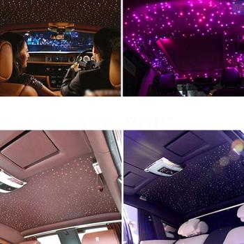 16W RGBW LED Fiber Optic Star Ceiling Lights Kit with Cables 300pcs