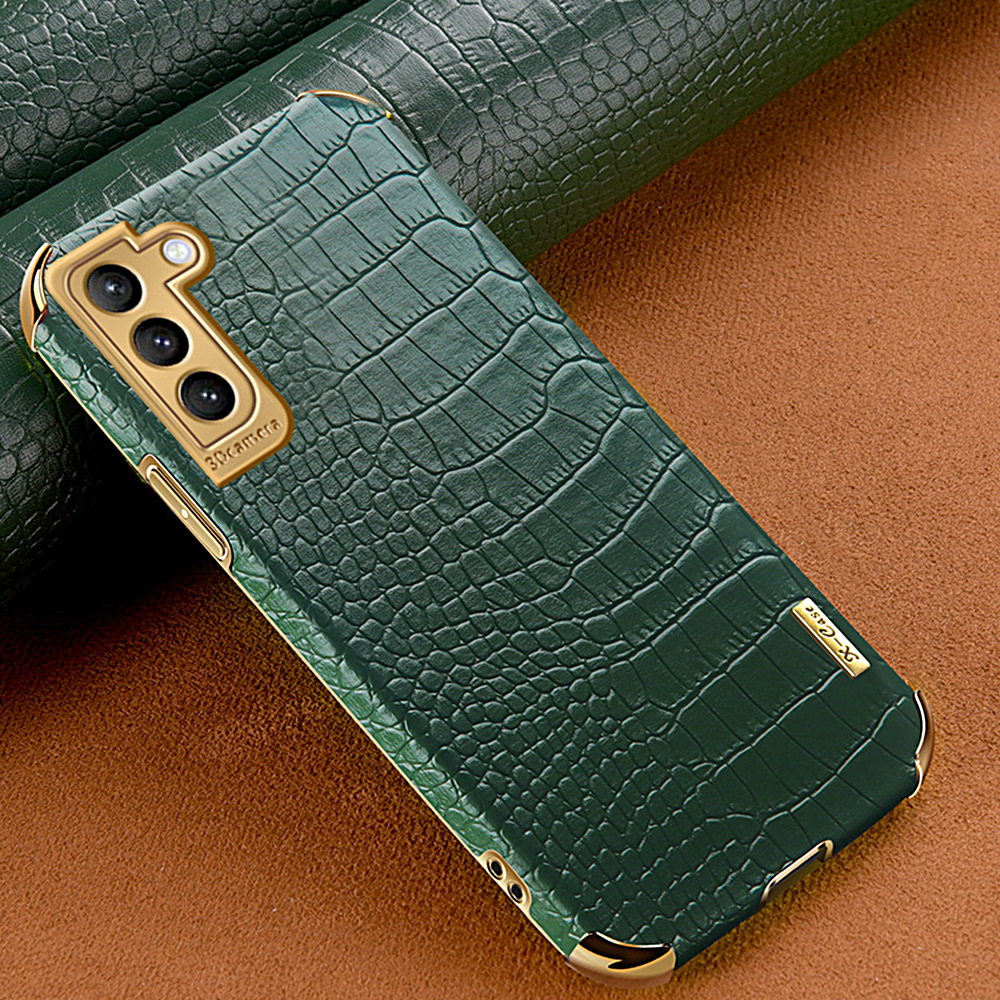Crocodile Pattern PU Leather Case For Samsung Galaxy S21 S20 Ultra Plus Note 20 Ultra S20 FE Case For Samsung A52 A72 A12 A32 5G