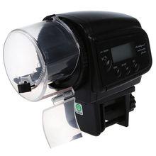 Цифровой автоматический контейнер для рыбы аквариумная кормушка дозатор с таймером