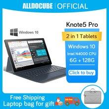 Alldocumente knote 5 pro 11.6 polegadas intel tablets windows10 gemini lago n4000 6gb ram 128gb rom 1920*1080 ips tablet pc knote5 win10