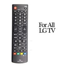 Controle remoto tv, substituição tv controle 17x4.5cm para lg 55la690v 55la691v 55la860v 55la868v akb73715601 32lm620t