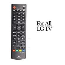 TV Remote Control, Replacement TV Control 17 x 4.5cm For LG 55LA690V 55LA691V 55LA860V 55LA868V AKB73715601 32LM620T
