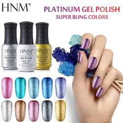 HNM, 8 мл, блестящий УФ-гель для ногтей, длинный светодиодный Гель-лак, Esmalte Permanente, художественный Гель-лак для ногтей, штамповка, Гель-лак