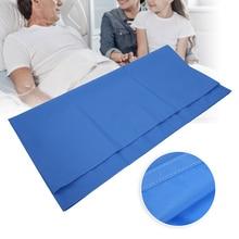 Multifunctional Patient Turning Transfer Bed Sliding Cloth Bedridden Elderly Nursing Helper Washable Transfer Pad Safety Bed Car