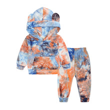 Outfit Sweatshirt Clothing-Sets Tracksuit Pant Hooded Girls Toddler Boys Autumn Baby