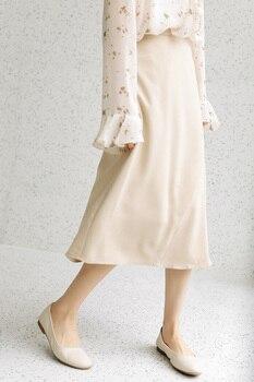 2020 Season Irregular Umbrella Pendulum Half-body Skirt Girls Long Han Fan Zhang Ulzzang Student Longuette Fashion 6