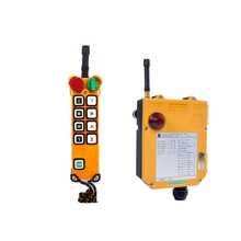 crane transmitter and receiver F24-6 radio industrial remote control for crane hoist nice uting ce fcc industrial wireless radio double speed f21 4d remote control 1 transmitter 1 receiver for crane