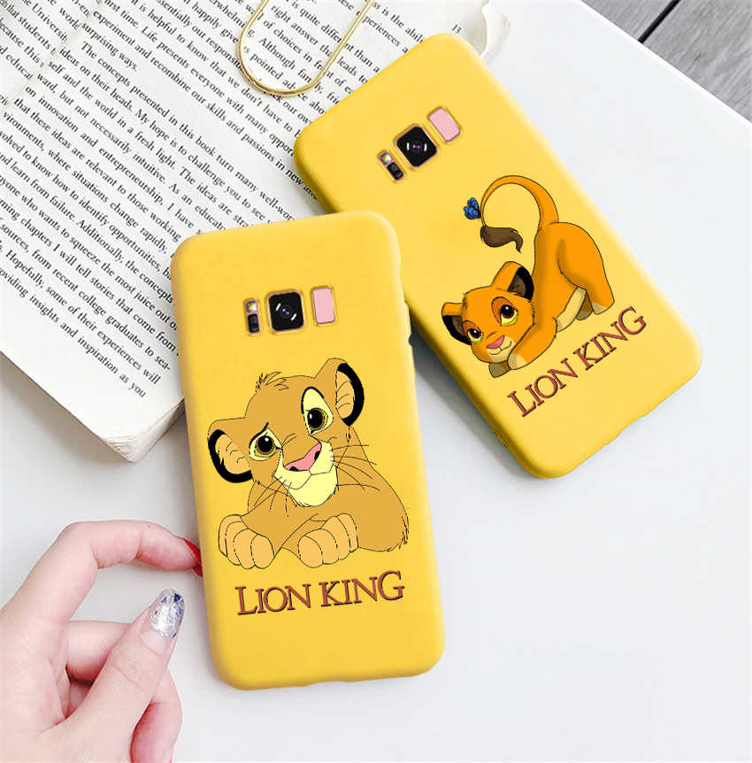 Lion King 2019 Berwarna Lembut Silicone Ponsel Case untuk Samsung S8 S8plus S9 S9plus S10 S10e Note9 Note10 Note10Pro