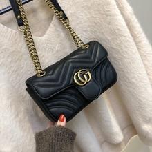 Bags Women 2019 New Shoulder Bag Fashion Chain Leather Messenger