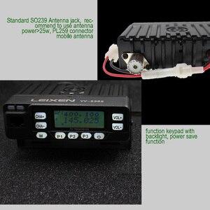 Image 5 - Autoradio VV 898S 25W LEIXEN double bande 144/430MHz émetteur Mobile Amateur VV898S Radio jambon Radio bidirectionnelle