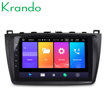 "Krando Android 9.0 9 ""IPS Groot Scherm Full touch auto navigatiesysteem voor Mazda 3 2010-2012 radio speler gps Bluetooth wifi(China)"