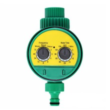 Automático inteligente controlador de irrigação display lcd rega temporizador torneira da mangueira temporizador ao ar livre à prova dwaterproof água automático em fora eua reino unido