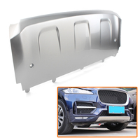 Silver ABS Car Front Bumper Protector Guard Skid Plate Cover For Jaguar F Pace R Sport 2016 2017 2018 2019 2020