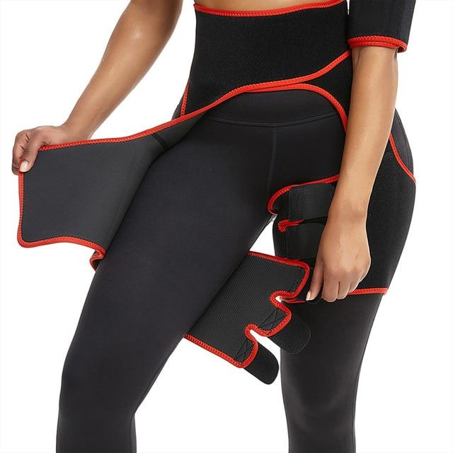 VERTVIE Women Neoprene Slimming Belt Body Leg Shaper Weight Loss Fat Burning Waist Trainer Sweat Waist Belt Workout Thigh Shaper 1