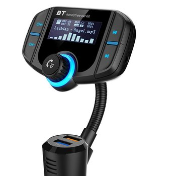 Car FM Transmitter with 1.7 Inch Display Consumer Electronics