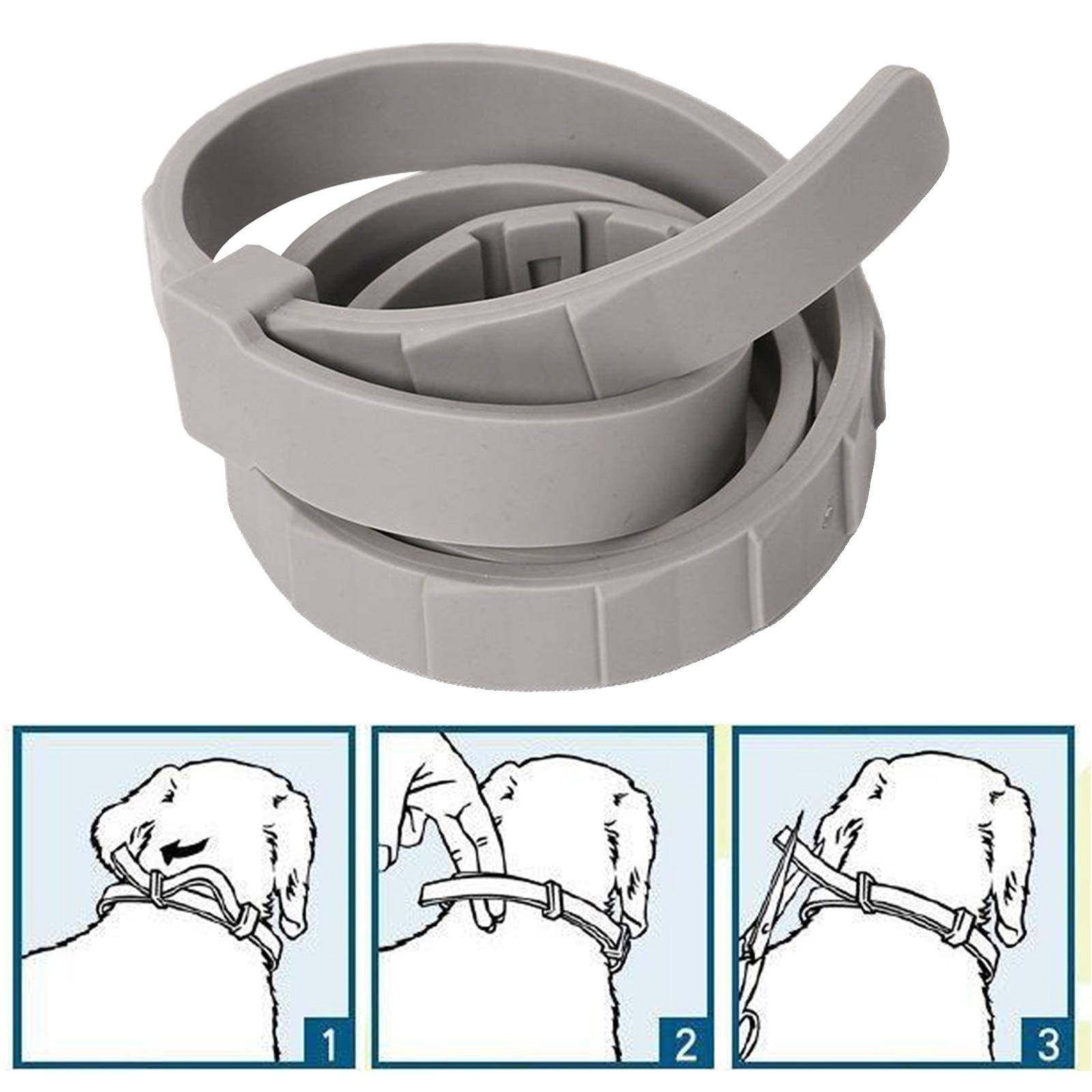 Dog Cat Flea Tick Collar Prevention 8 Month Protection Natural Adjustable