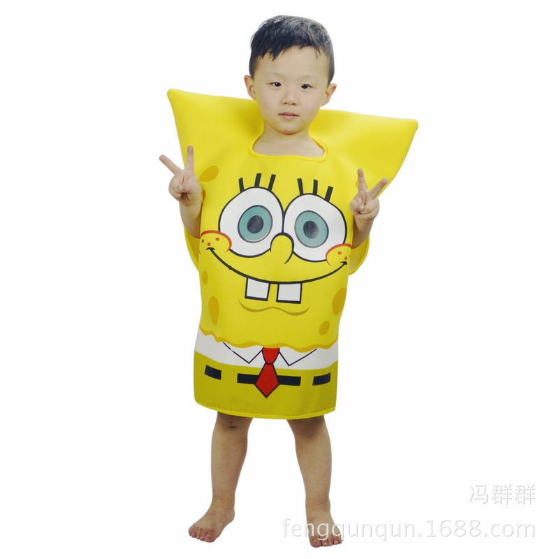 Halloween Children's Day CHILDREN'S Performance Wear SpongeBob Cartoon Costume Cartoon Doll Costume